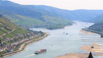 Update low water situation Rhine